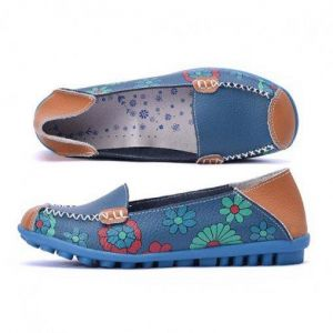 d541d03731e9de Ladies Comfortable Soft Shoes Blue