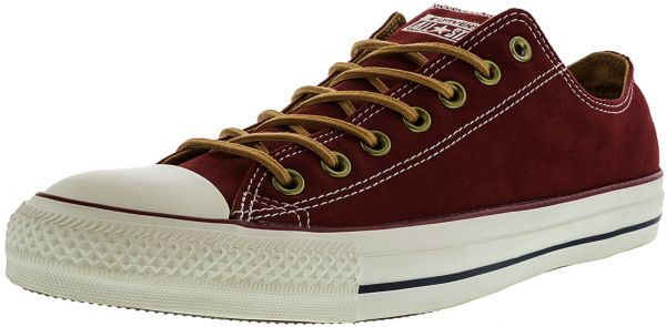 4354316cd621 Converse Chuck Taylor All Star Ox Fashion Sneakers for Men - Maroon ...