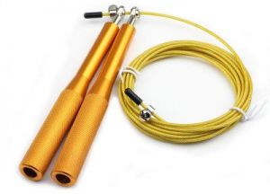 377d2ab78 YaFex Adjustable Skipping Rope, Steel Jump Rope for Gym Lose Weight  Gymnastics Fitness MMA Boxing, Metal Cord Speed Rope Cable for Training  Workout Exercise ...
