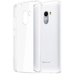 Lenovo A7010 ( Vibe X3 C78-X3 Lite-K4 Note) TPU Silicone Clear Case Back Cover By Muzz