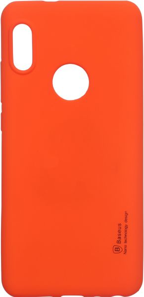 best website a25c7 7fc64 Baseus Back Cover for Xiaomi Redmi Note 5 Pro, Orange