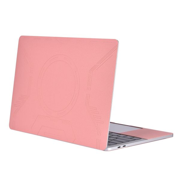 Mosiso Macbook Pro 13 Sticker 2018 2017 2016 Release A1989a1706a1708 Removable Protective Full Cover Pu Leather Decal Cover Skin For Newest