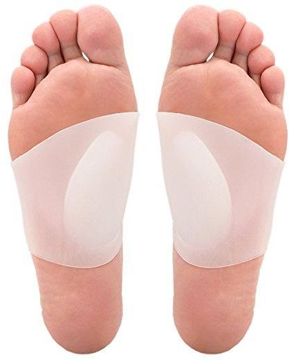 31b6498a60 One Pair Arch Support Soft Gel Plantar Fasciitis Sleeves for Flat ...