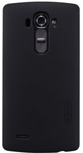 Nillkin LG G4 Frosted Hard Shield Phone case Cover with Screen Guard - Black