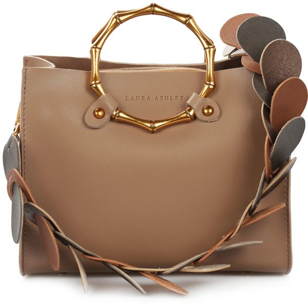 Laura Ashley Tisbury Tote Bag with Extra Pouch for Women, Leather - Camel    KSA   Souq 8900a6a4dd
