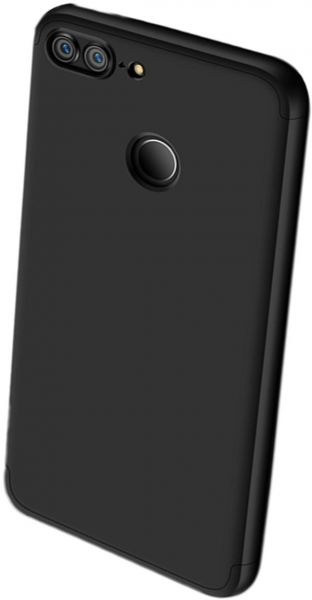 reputable site bd035 9e2cf Generic 360 Sided TPU Matte Case For Huawei Y7 Prime 2018 - Black