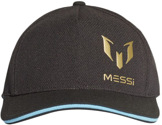ce88b8fa2c678e adidas Messi Football Cap for Boys - Carbon/Bright Cyan Price in ...