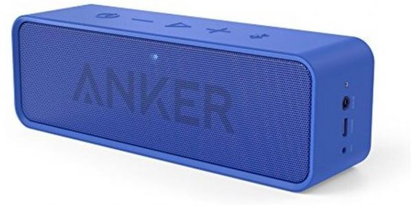 Anker Soundcore Bluetooth Speaker With 24 Hour Playtime 66 Foot Bluetooth Range Built In Mic Dual Driver Portable Wireless Speaker With Low Harmonic Distortion And Superior Sound Blue Price In Saudi Arabia Souq Saudi