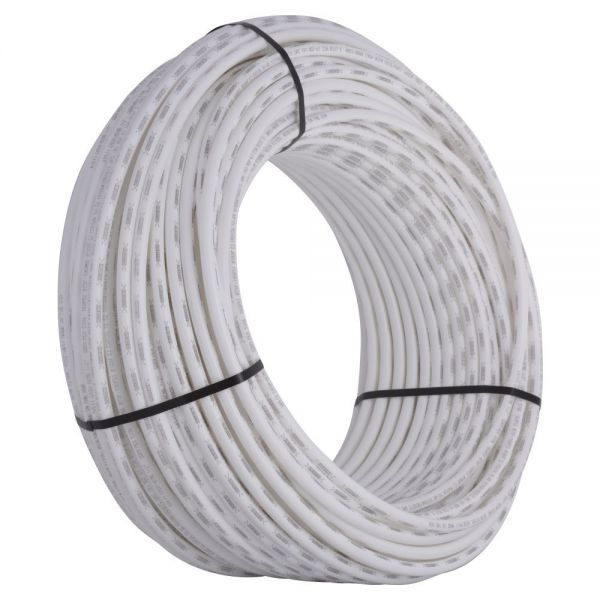 SharkBite PEX Pipe Tubing 1/2 Inch, White, Flexible Water Tube, Potable  Water, Push-to-Connect Plumbing Fittings, U860W500, 500 Foot Coil