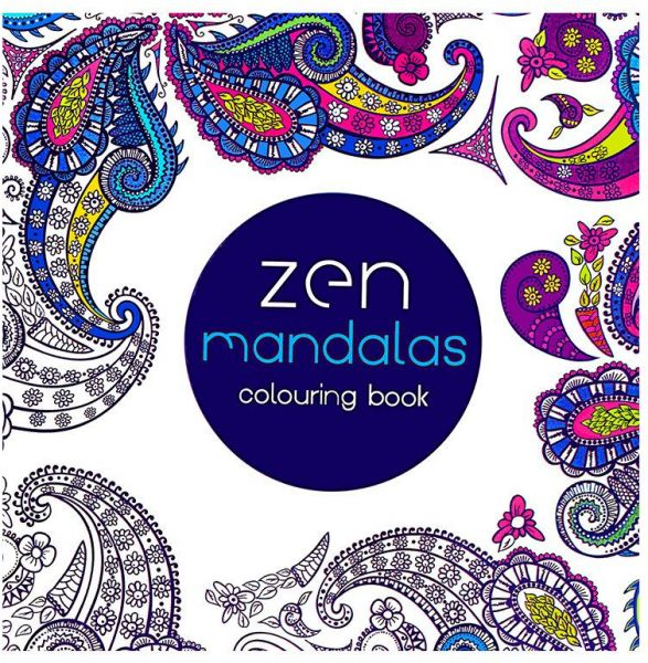 24Pages Mandalas Colouring Book Secret Garden Style Coloring For Relieve Stress Kill Time Graffiti Painting Drawing