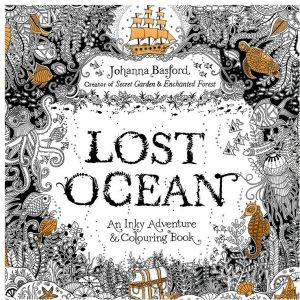 Lost Ocean Page 24 Of The English Version Decompression Artifact Graffiti Coloring Anti Stress Painting Books With Color Pencil