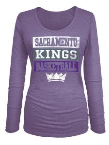 Profile Big /& Tall NBA Sacramento Kings Short Sleeve Screen Tee 2X Purple