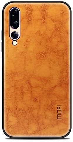 Huawei P20 Pro Mofi Shockproof Case Cover - Light Brown Price in