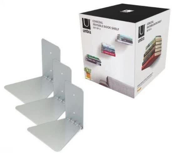 Umbra Conceal Floating Bookshelf Small Size Set Of 3