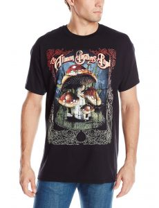 ee6ab41581d FEA Men s Allman Brothers Band Many Mushrooms T-Shirt