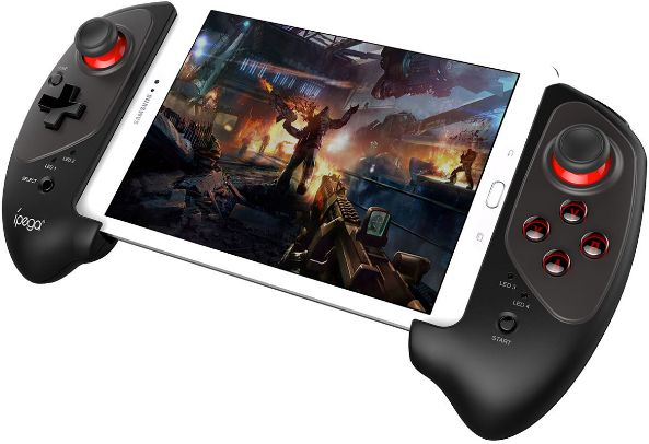 IPEGA PG 9083 Bluetooth 3 0 Wireless Gamepad for Android / iOS Retractable  Gamepad Practical Retractable Handle Pad