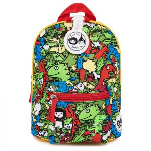 10ac31380fa Zip   Zoe Dino Mini Backpack for Kids with Safety Harness - Green and Red