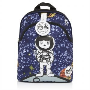 b3f0e44a2a3 Zip   Zoe Spaceman Mini Backpack for Kids with Safety Harness - Blue