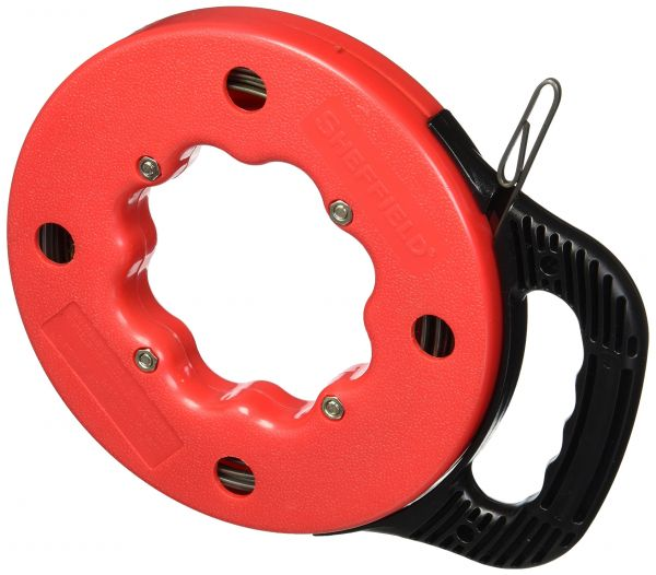 Souq | steel 25\' Fish Tape cable puller fishing electrician high ...
