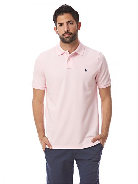 Polo Ralph Lauren Classic Fit Polo for Men - Pink
