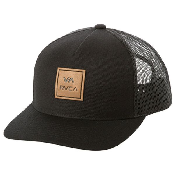 7c7ed9b86443a RVCA Men s VA All The Way Curved Brim Trucker Hat