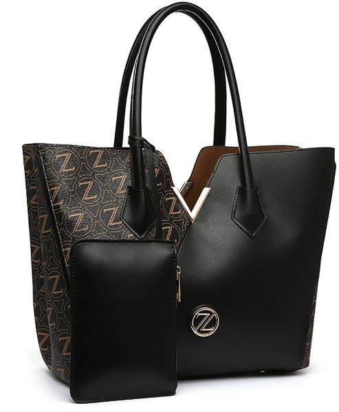 Zeneve London Bag For Women Black Tote Bags