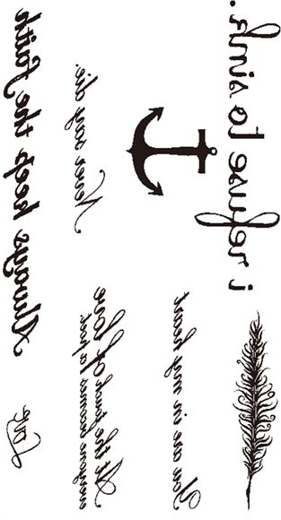 Temporary Tattoos Small Size Body Art Stickers Most Popular Fake Tattoo Designs As Cross Star Letters Butterfly Compass Bird Cat Feather Etc Price In Saudi Arabia Souq Saudi Arabia Kanbkam