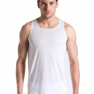 2eb3bd3be9420 Size XL Mens Teens Breathable Seamless Smooth Thin Ice Silk Vest Tank Top  Undershirt Men Breathable Top Tanks Cool Breathabl