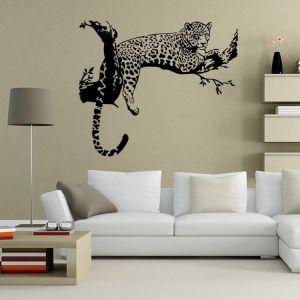 The Cheetah 3d Wall Sticker Home Decor Kids Bedroom Living Room Wallpaper Buy Online Wallpaper Decals At Best Prices In Egypt Souq Com