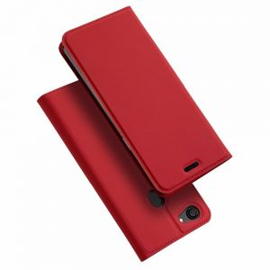 Oppo F7 DUX DUCIS Skin Pro Series Leather Case Cover - Red