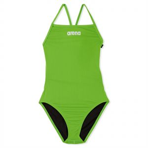 ff3c82e976 Arena Solid Lihtech Jr Swimsuit For Girls