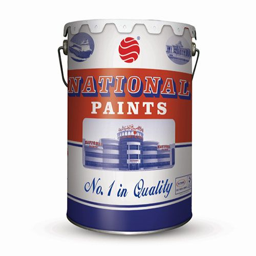 National Paint 801 Off White Water Based 3 6l Np 801 3