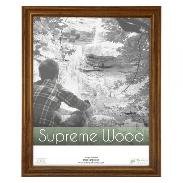 Souq | Supreme Woods Picture Frame - Honey 22W x 28H in. Yellow ...