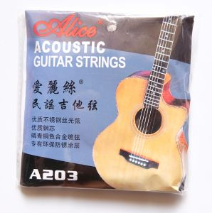 870da2102f3 ALICE ACOUSTIC GUITAR STRINGS A203