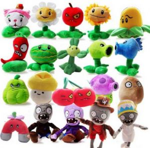 20 game players doll plants vs zombies plush toys around 15cm