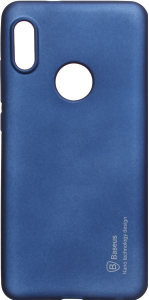 timeless design 58b18 bfff6 Baseus Back Cover for Xiaomi Redmi Note 5 Pro, Blue