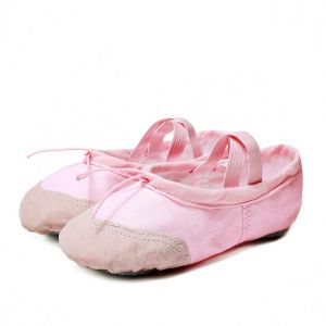 3fefc3bc4d6 Toddler Canvas Practice Gym Slipper Girl Soft split Sole Dance Ballet Shoes  for children adult