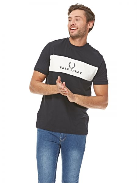 28e606f79 Fred Perry T-Shirt for Men - Navy Price in Saudi Arabia