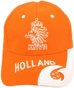 f94156ac81b48 Orange Holland KNVB Fans FIFA World Cup Embroidery Snapback Hat Baseball Cap  For Unisex