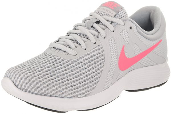 a9c5f19f7f455 Nike Revolution 4 Running Shoes For Women - Light Grey Pink Price in ...
