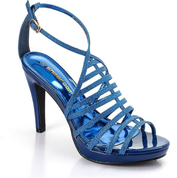 be5076d3a08 Buy Shoeroom Sr-1407 Navy Gladiator Dress Sandal For Women in Egypt