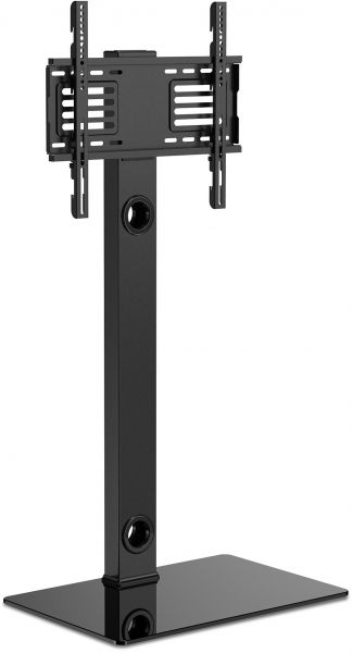 Fitueyes Universal Floor Tv Stand With Swivel Adjustable Mount Fit