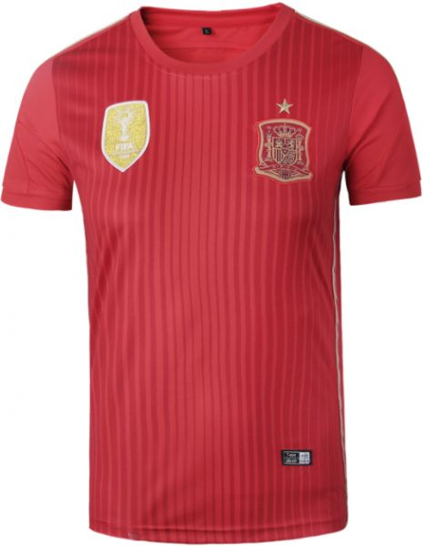 131e0031b 2018 FIFA World Cup Spanish team men s football suit Red jersey suit-S size