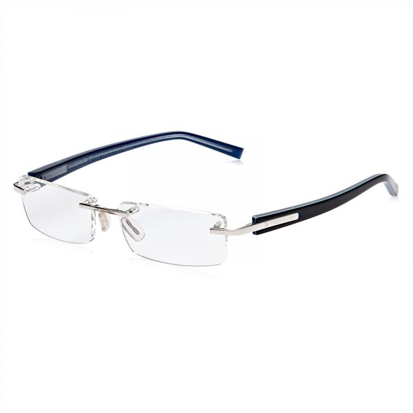 78d701f304 Tag Heuer Rimless Glasses Frame for Men - Blue