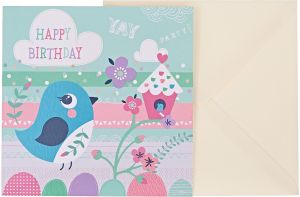 JG Greeting Cards Happy Birthday Card