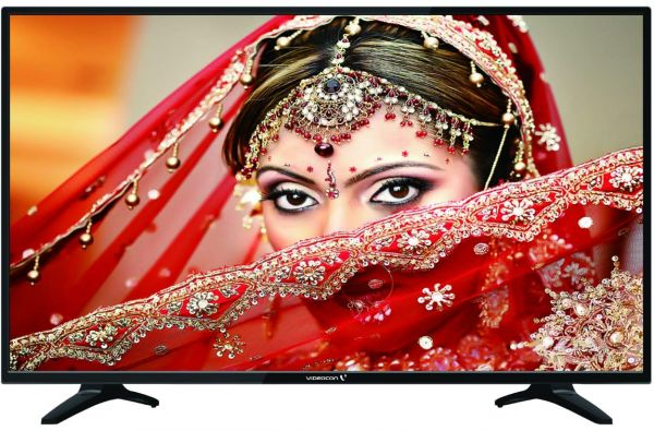 Videocon 43 Inch Led Smart Tv Black With Wall Brackets Souq Uae