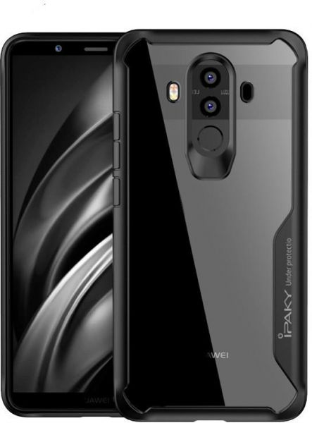 promo code 884a3 5bce6 IPAKY Shockproof Hybrid Armor Case Full Edge Cover For OnePlus 6 - Black