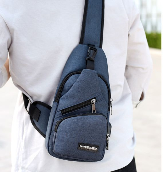 Men fashion casual sports single shoulder bag  746ceb2ad0aac