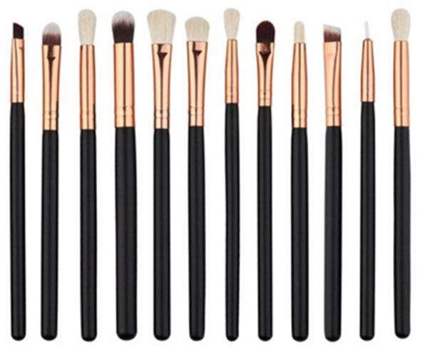 12 pcs/Sets Makeup Brush Set for Eye Shadow Foundation Eyebrow Lip