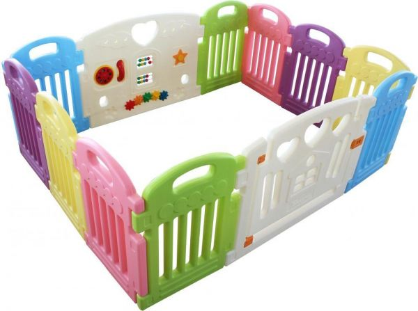 ad976f522289c Rainbowtoy Baby Playpen Kids Activity Centre Safety Play Yard Home Indoor  Outdoor With 12 Panels